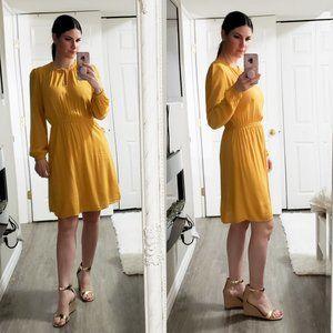 Old Navy * Mustard Yellow Prairie Dress *